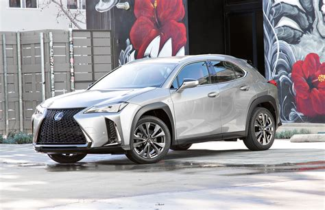 2019 Lexus Ux Small Suv Emerges In Us Trim, Hybrid