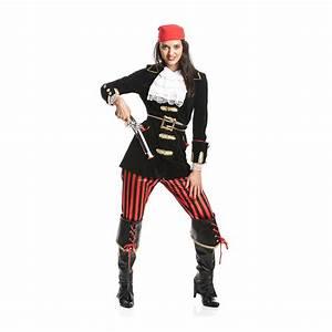 Damen Kostüm Piratin : piratin kost m deluxe damen piraten kost m piratenkost m pirat 36 38 40 42 44 46 ebay ~ Frokenaadalensverden.com Haus und Dekorationen