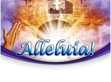 heaven alleluia religion powerpoint templates