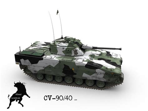 stridsfordon   cv  ifv  model cgtrader