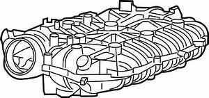 Chevrolet Traverse Engine Intake Manifold  Upper  Liter
