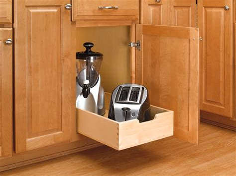 installing pull out drawers in kitchen cabinets 15 inch wood pull out shelf 4wdb 15 9618