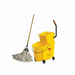 Mop and bucketDaily Rate: $5.00 - San Diego Productions, Inc.
