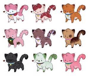 Chibi Cat Adoptables deviantART