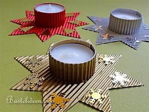Teelichter Basteln Mit Kindern : basteln zu weihnachten mit kindern stern teelichthalter ~ Markanthonyermac.com Haus und Dekorationen