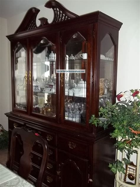 dining room table and china cabinet marceladick