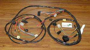 Forward Lamp Wiring Harness 70 Chevelle El Camino Ss W