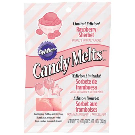 limited edition raspberry sherbet candy melts candy