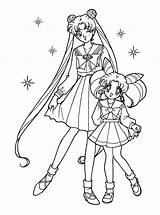 Sailor Moon Coloring Pages Printable Sailormoon sketch template