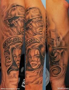 Gangster Tattoo – Gangster Clown Tattoo Design ...