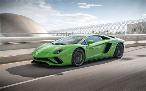 Wallpaper Lamborghini Aventador S 2017 4k Automotive