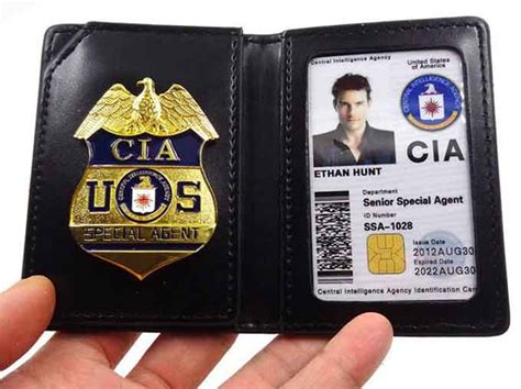 cia badge  american security today