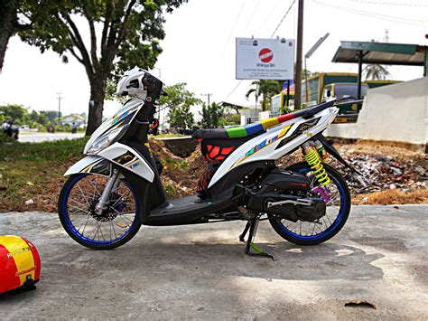 Modifikasi Motor Yamaha Mio J by Mio J Modifikasi Simple Thecitycyclist