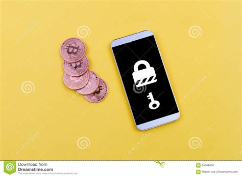 They may be unsafe, untrustworthy, or illegal in your jurisdiction. Mobile With Ransomware And Bitcoin Payment To Illustrate Online Security Stock Photo - Image of ...