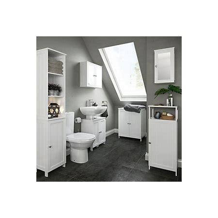 nicolina white tall storage unit departments diy  bq