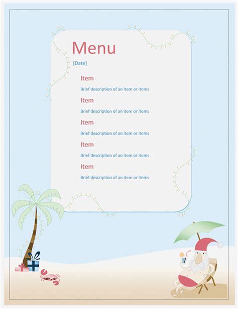 kostenlose speisekarten vorlagen zum selbst gestalten
