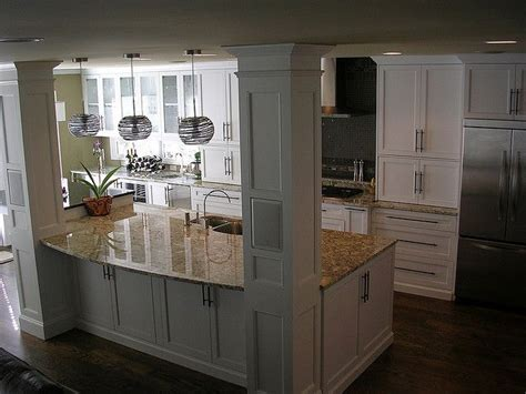 how do you build a kitchen island view of kitchen from stairs open kitchens kitchens and
