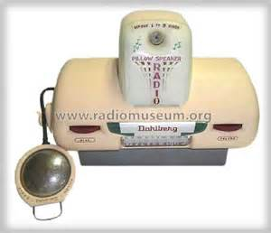 Pillow Speaker Radio 4130d Radio Dahlberg Company; Minneapo