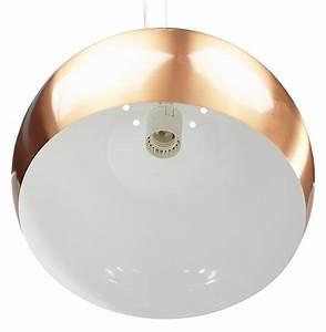 Suspension Boule Cuivre : suspension boule pogo couleur cuivre lustre design ~ Teatrodelosmanantiales.com Idées de Décoration