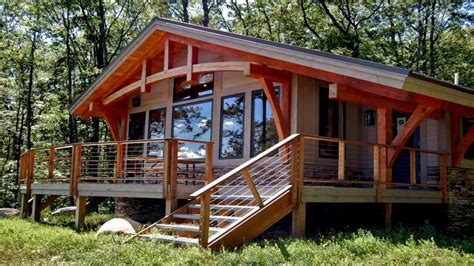 small post  beam cabins small timber frame cabin kits timber frame cabin treesranchcom