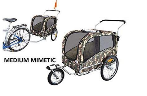 carrello porta cani per bici carrello per trasporto cani trasportino net