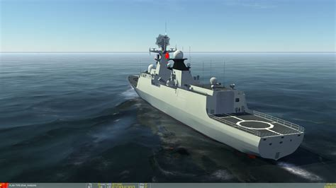 china type  frigate ddg  han