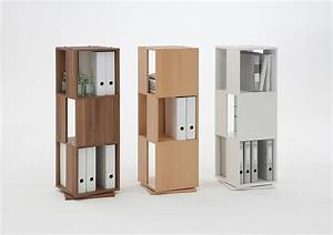 Etagere De Bureau : meuble bibliotheque colonne de bureau ~ Teatrodelosmanantiales.com Idées de Décoration