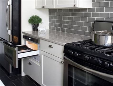 What Is a Microwave Drawer   Small Kitchen Ideas for