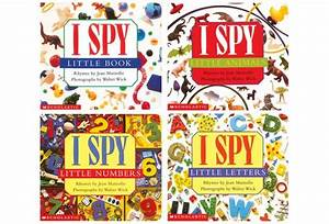 i spy board books set of 4 With i spy little letters board book