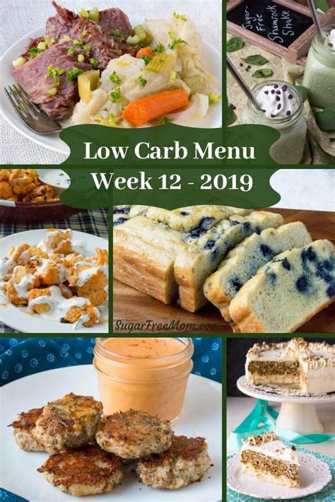carb keto meal plan week