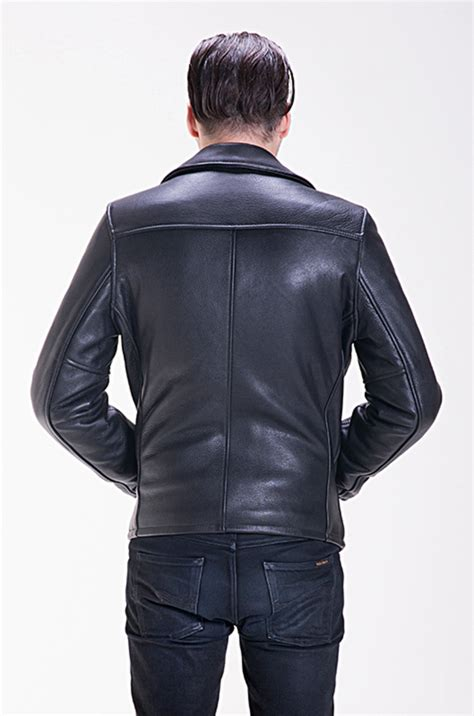 Pebbled Cowhide Leather by Schott Nyc