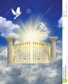 Free Clip Art of the Pearly Gates of Heaven