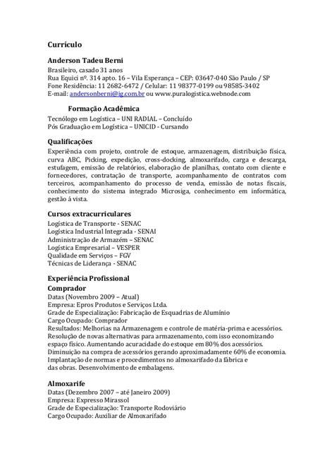 Modelo De Curriculum Vitae Pt