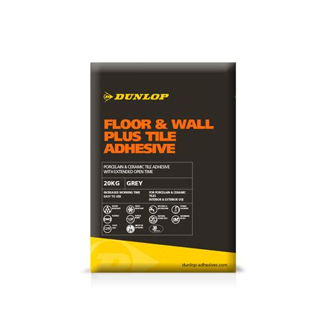 dunlop floor and wall plus tile adhesive home fatare