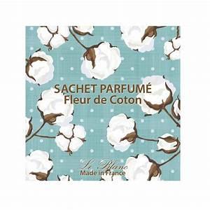 Sachet Parfumé Pour Armoire : sachet parfum fleur de coton sachet senteur coton le blanc ~ Teatrodelosmanantiales.com Idées de Décoration