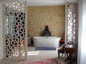 cloison decorative interieure maison design bahbecom With separation en bois deco interieure