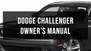 2015 Dodge Challenger Owners Manual Pdf