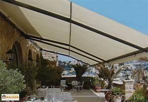 Store Banne Sur Pied : store banne sur mesure goliath 6 8 7m x 5 5m soliso ~ Premium-room.com Idées de Décoration