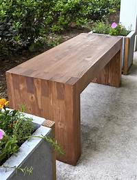 how to build a wood bench Williams Sonoma inspired DIY outdoor bench - diycandy.com
