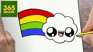 Dessin Facile Yeux : comment dessiner nuage kawaii tape par tape dessins kawaii facile youtube ~ Melissatoandfro.com Idées de Décoration