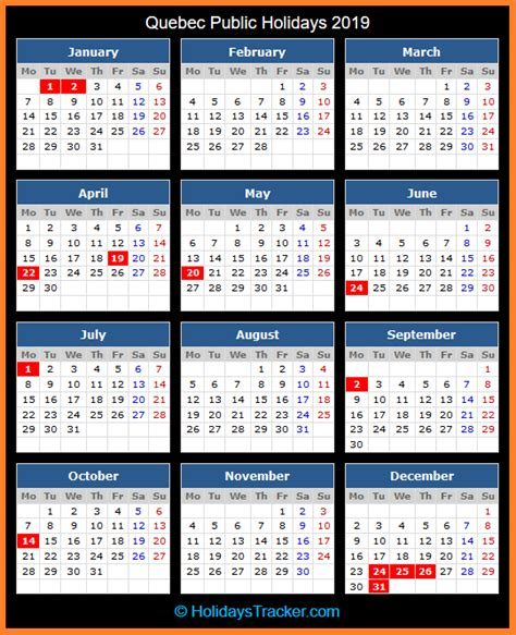 quebec canada public holidays  holidays tracker