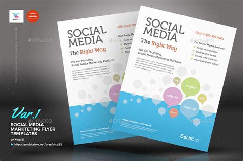 social media marketing flyer  kinzi graphicriver