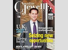 Issue Junejuly 2012 Canadian Jeweller Magazine