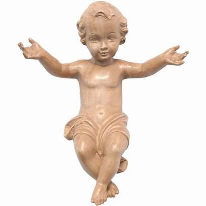 Jesus Wood Statue Valgardena Patinated Finish Holyart