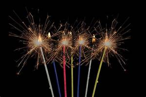 Thin Sparkling Candles/ 1 Pack - Party Supplies Malaysia