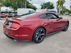 New 2019 FORD MUSTANG ECOBOOST FASTBACK Rear Wheel Drive Fastback