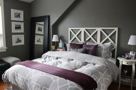 Purple And Grey Bedroom Ideas Images Womenmisbehavincom
