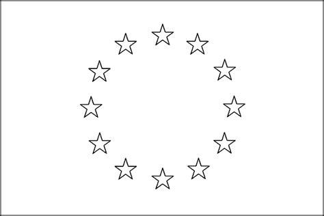 Europa Kleurplaat by Landen Europa Kinder Kleurplaten Vlag Europa