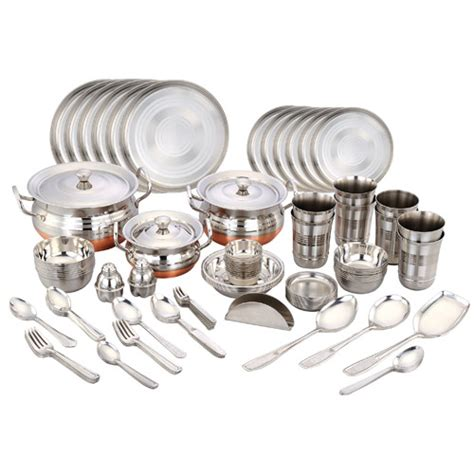 HD wallpapers silver dinner set online india