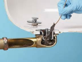 Unclogging Bathtub Drain Video by Bathroom Method Of How To Unclog A Bathtub Drain How To